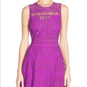 Adelyn Rae Purple lace dress